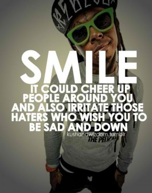 HATERS GONNA HATE!!! photo lil-wayne-celebrity-haters-life-quotes ...