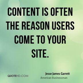 Jesse James Garrett Quotes 5