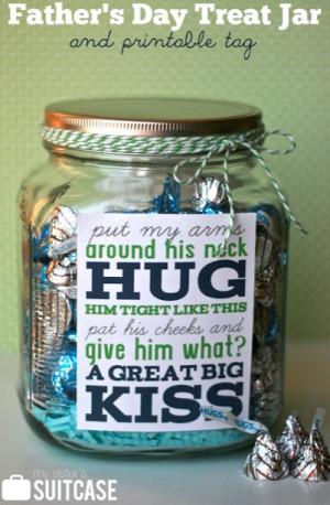 HERSHEY'S KISSES Chocolates make this cute DIY treat jar a sweet ...