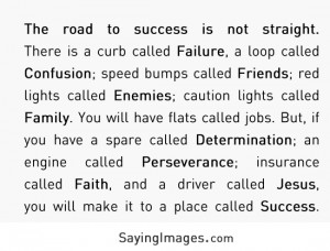 The Road To Success: Quote About The Road To Success ~ Daily ...