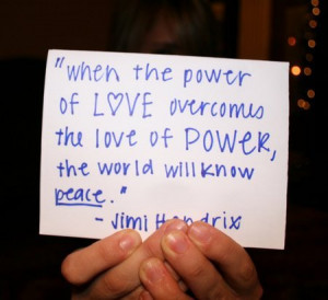 When The Power Of Love Overcomes