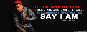 wiz khalifa quotes about life facebook cover