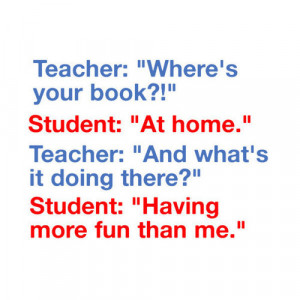 Book Quote School Typical Funny Quotes Words Text Word
