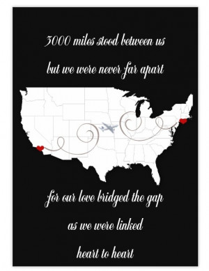 ... distance inspired wedding invitation that we designed!!! Thoughts