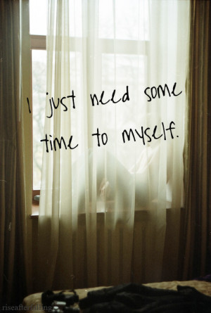 quote happy sad myself lonely quotes photo time inspiration alone ...