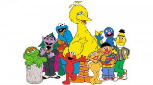 ... Big Bird Count Bert Ernie Cookie Monster Oscar Elmo Grover Wallpaper
