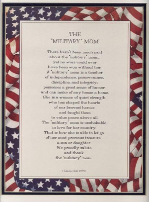 The Military Mom