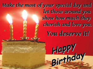 Birthday Wording Ideas The Best Quotes, Quips And Sayings For ...