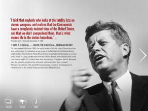 Cuban Missile Crisis JFK Quotes