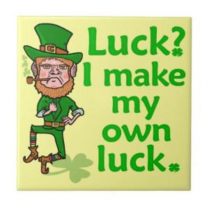 funny_angry_lucky_irish_leprechaun_ceramic_tile ...