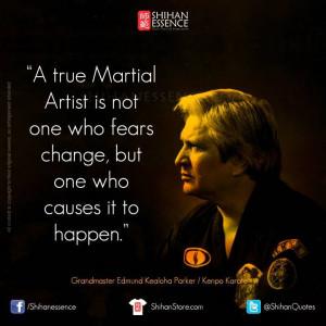 Shihan Essence Martial Arts Quotes