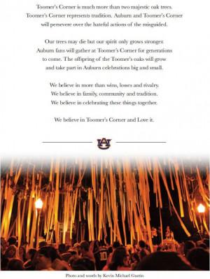 an Auburn fan. Auburn Things, Damn Eagles, Auburn Quote, Auburn Fans ...