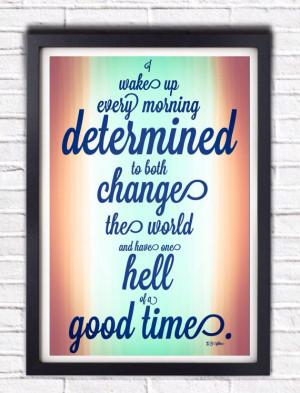 Inspirational E.B. White Quote
