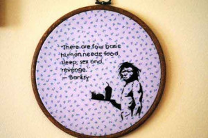 """Banksy Quotes 
