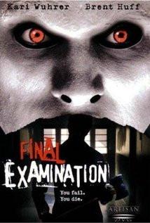 Final Examination (2003) Poster