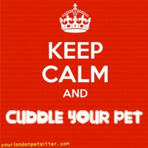 KeepCalm and Cuddle your Pet