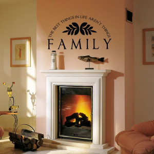 Magnificent Family Rooms Quotes Wall Decor - Family Room Wall ...