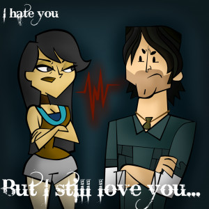 hate you... but i still love you by ZeiGar