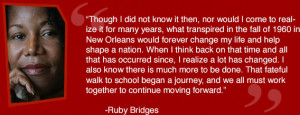http://www.rubybridges.com/ this quote is from Ruby Bridges.