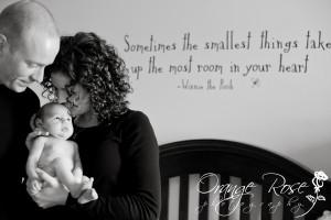 Newborn Baby With Parents