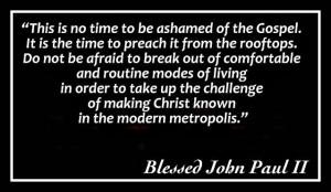 Pope John Paul Ii Quotes On Love And pope john paul ii.