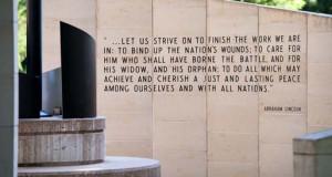 Quotes About the Vietnam Veterans Memorial