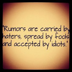 It's so true, sometimes people say things because they're mad when its ...