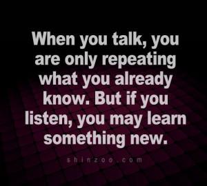 listen.. inspirational quotes