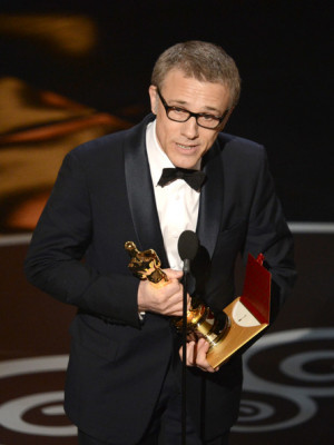 Christoph Waltz Actor Christoph Waltz accepts the Best Supporting ...