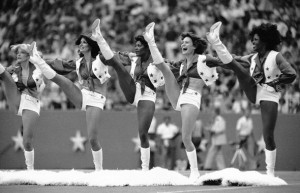 ... the most famous NFL Cheerleaders; the Dallas Cowboys in the '70s