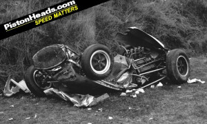 Stirling Moss Breaks Ankles In Three-Storey Fall