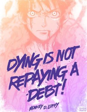 Monkey D. Luffy. One Piece Anime.