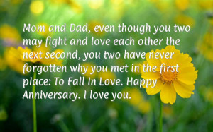 Anniversary Wishes For Parents And Quotes Say Happy