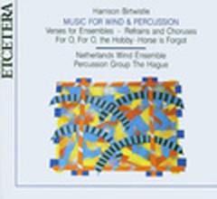 Harrison Birtwistle Verses for Ensemble