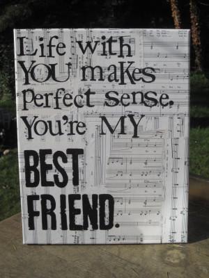 11x14 My best friend Tim McGraw Lyrics vintage by Houseof3