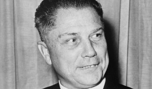 Jimmy Hoffa, President of the IBT from 1958 to 1971