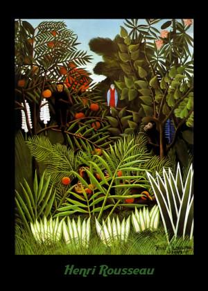 Henri Rousseau Exotic Landscape