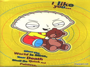 Stewie Griffin Quotes HD Wallpaper 3