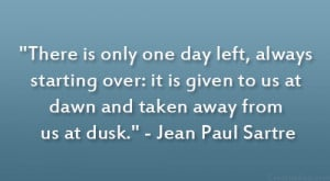 Jean Paul Sartre Quote