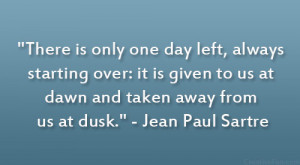 Jean Paul Sartre Quote