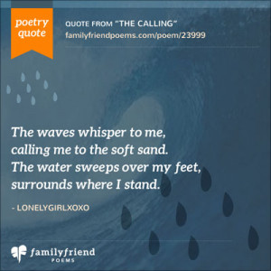 Ocean Poems and Quotes