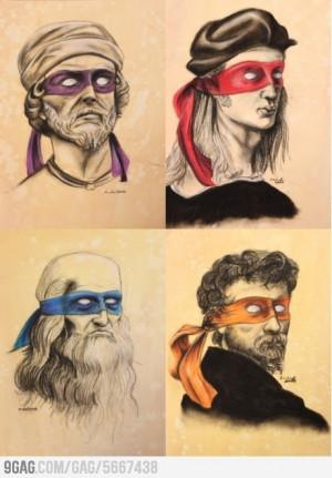 Ninja Renaissance Artists.