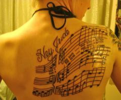 many people feel that tattoos with words more accurately express the