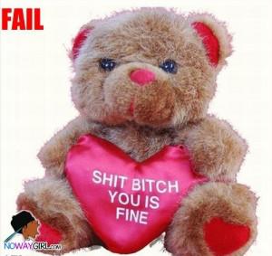 ghetto valentines day gift