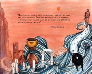 Paulo Coelho's novel,