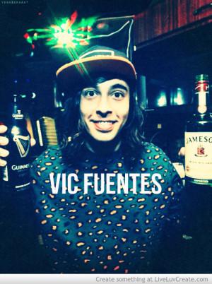 Vic Fuentes Quotes Vic fuentes funny quotes vic