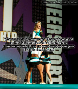Competitive Cheerleading Quotes Tumblr