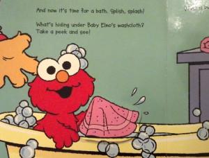 Um… No thanks, Elmo.
