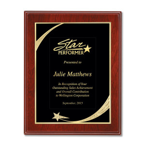 Supporters Plaques Are The Perfect Award To Recognize Achievement