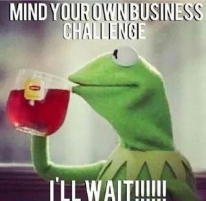 None ma business !!! More